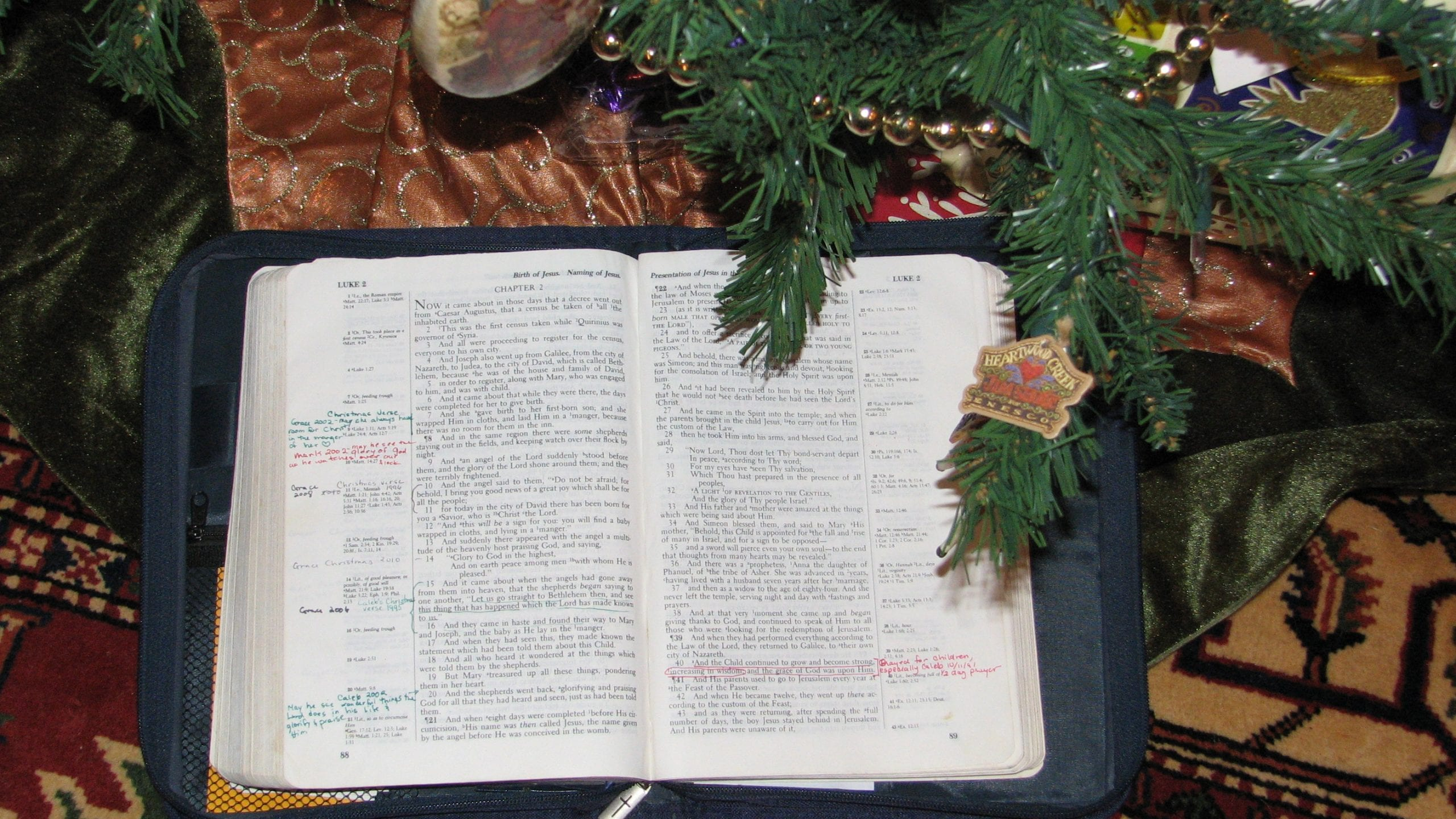 The Gift of a Christmas Verse