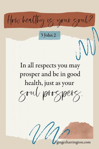 3 John 2 Prospering Soul