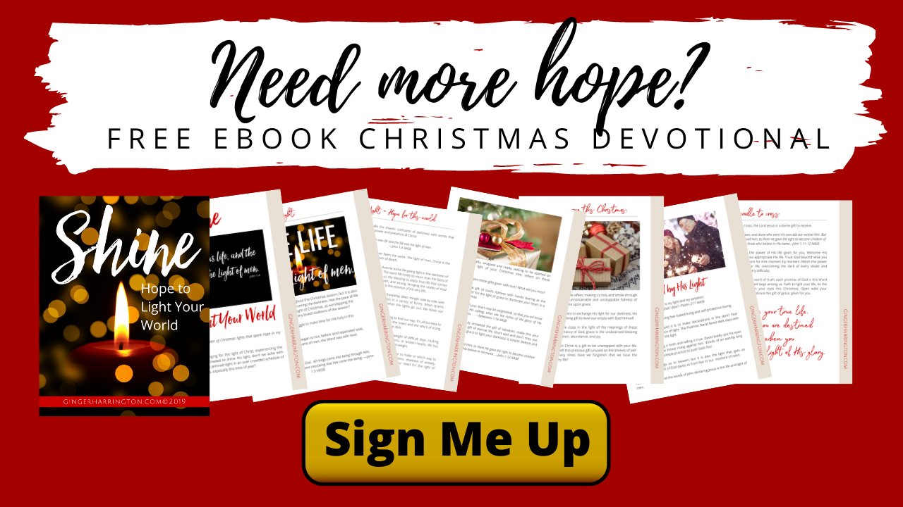 Need more hope? Get this free Christmas devotional to spark more hope in your life. Biblical inspiration for Christian women to reflect on Christ this Christmas. #christmas #devotions #freeresources