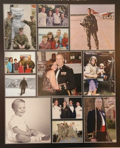 Through the years with a military family.
