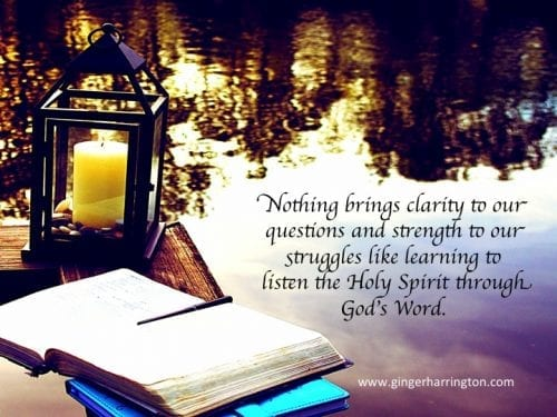 Listening To God Through His Word
