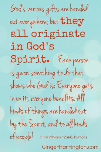 1 Cor 12:4-88