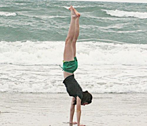 Handstand Girl 2