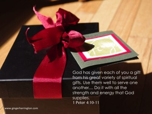 Use Your Gifts from God