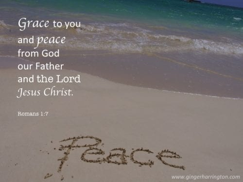 Grace and Peace to you