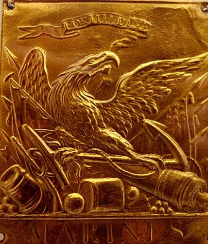 Brass Marine Eagle emblem