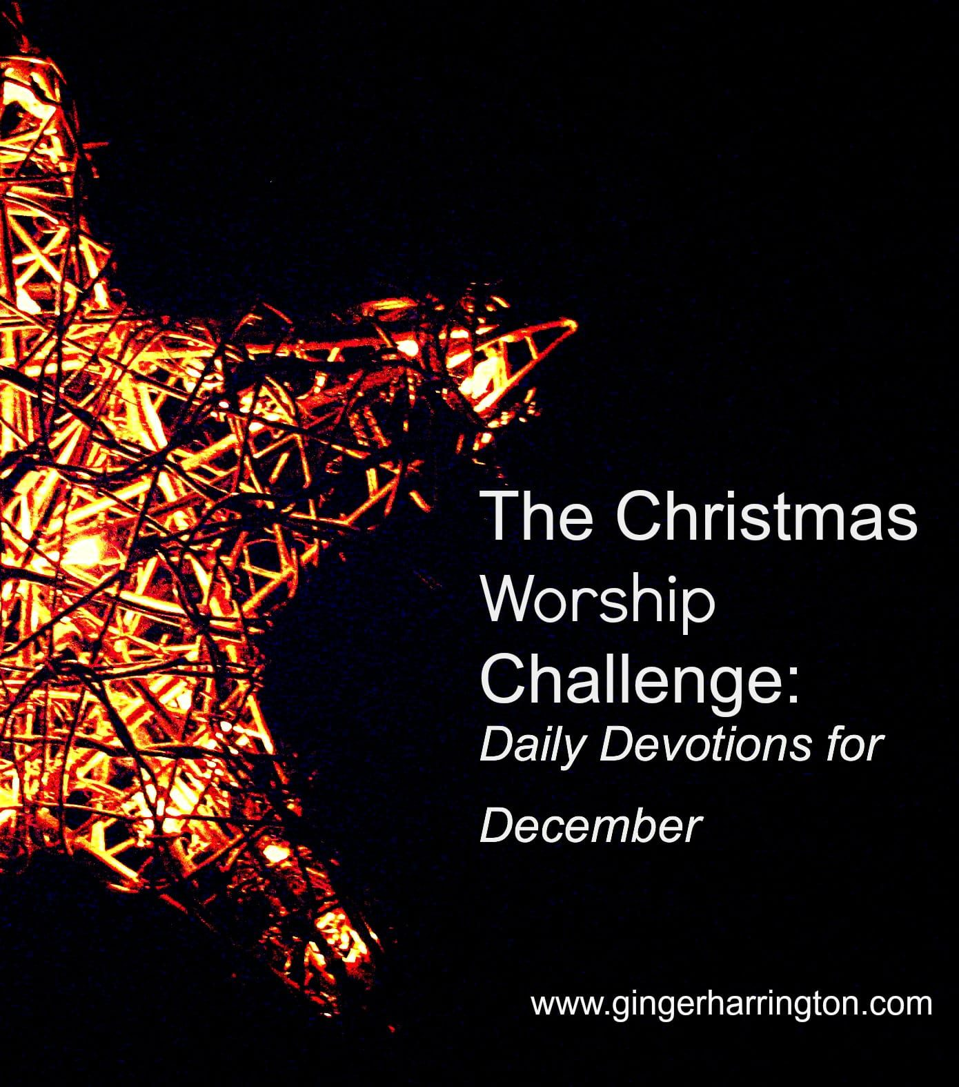 Beat the Craziness of Christmas–Commit to Worship Christ this Christmas