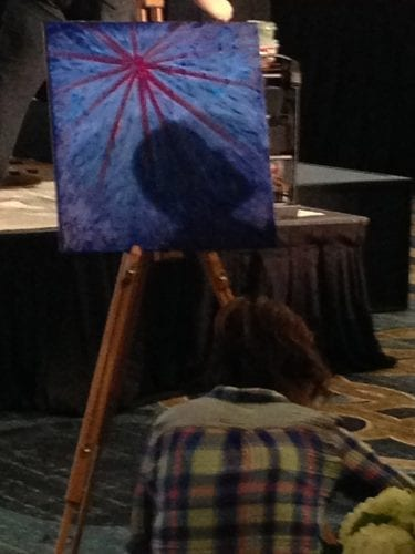 Prophetic Worship Painting