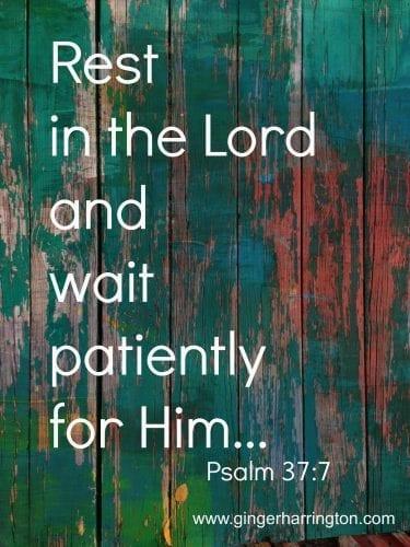 Psalm 37:1