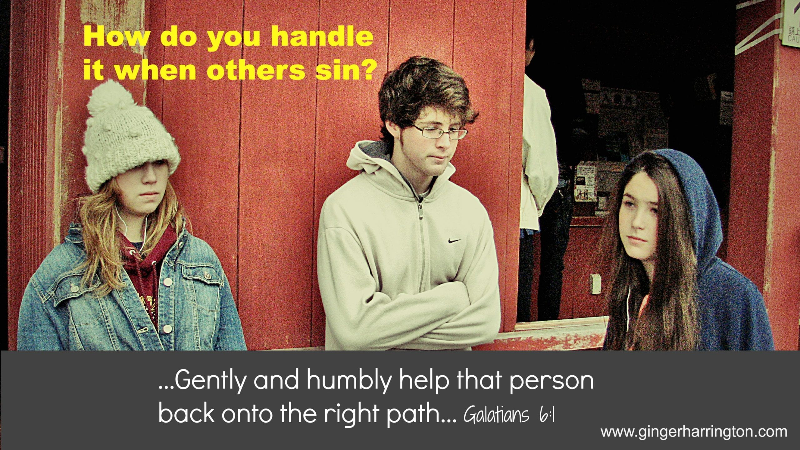 How do you Handle it When Others Sin?