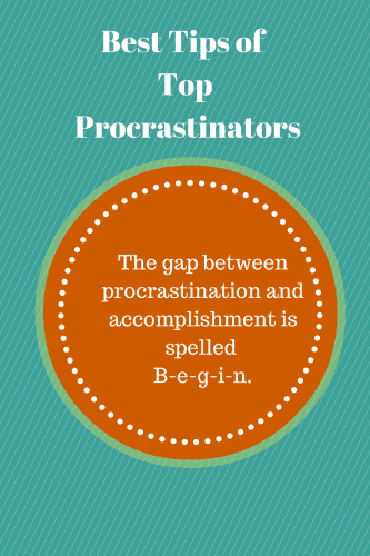 Best Tips of Top Procrastinators (1)