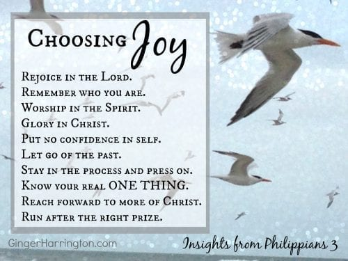 Choosing Joy 10 Steps