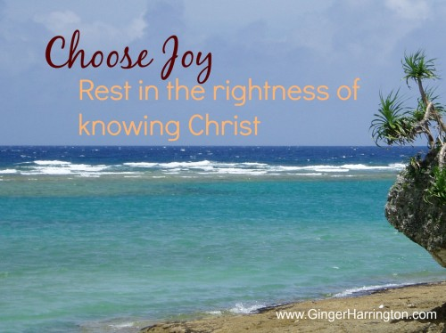 Knowing Christ is joy