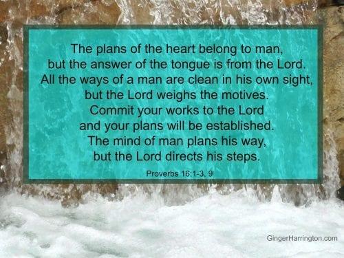 Proverbs 161-3