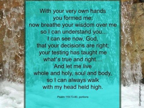 Psalm 119:73-80