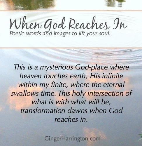 Poetic words and images for spiritual intimacy with God