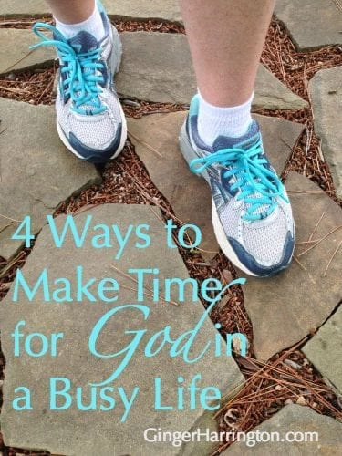 Try these simple ideas for making the most of your time with God when life is busy.