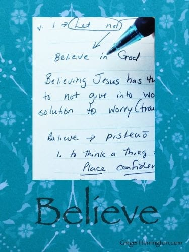 Write to Believe