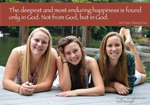 Happiness in God