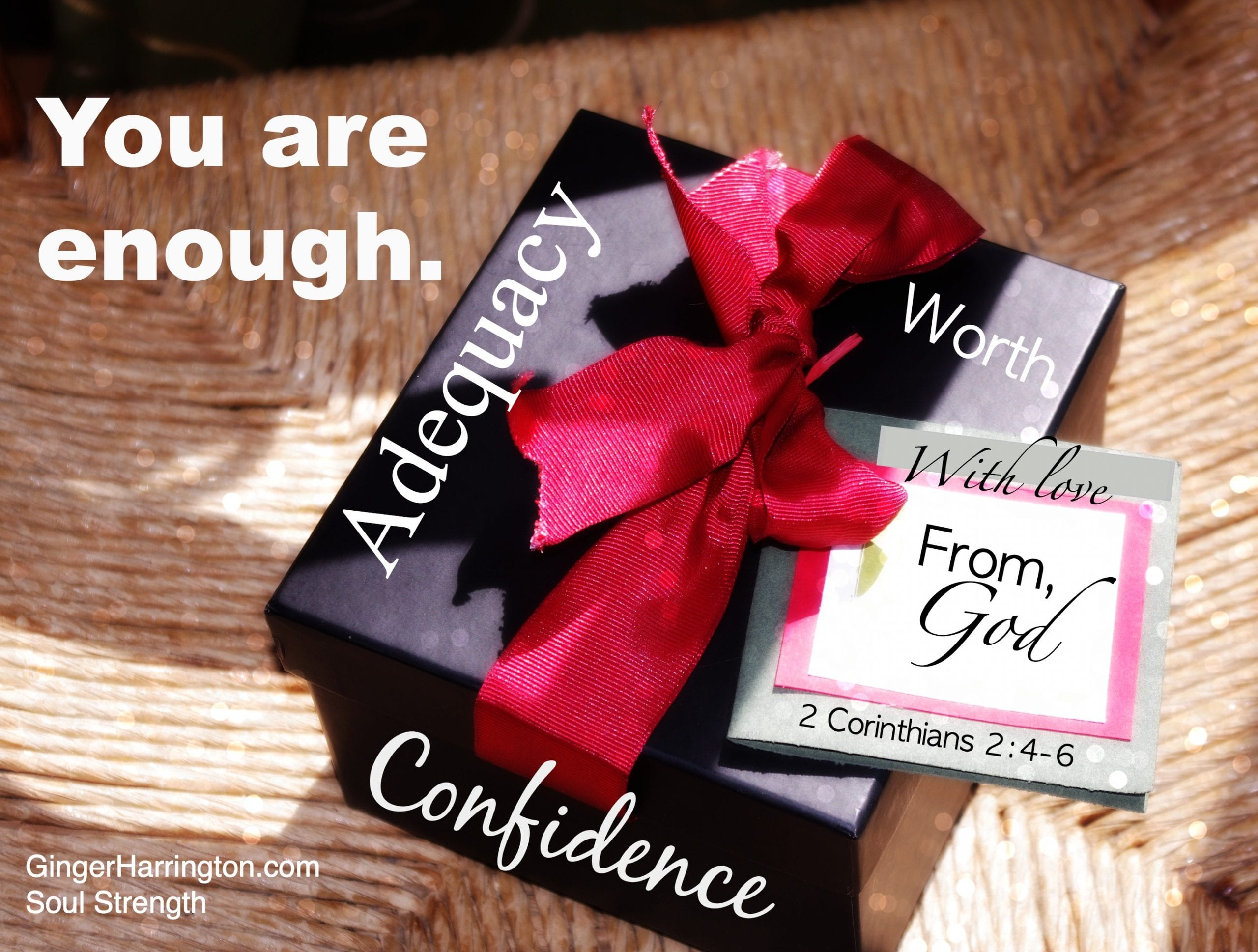 Soul Confidence: You are Enough