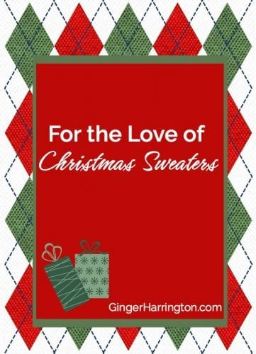 For the love of Christmas sweaters. A humorous tribute to the joy of Christmas sweaters.