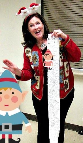 The Christmas to-do list