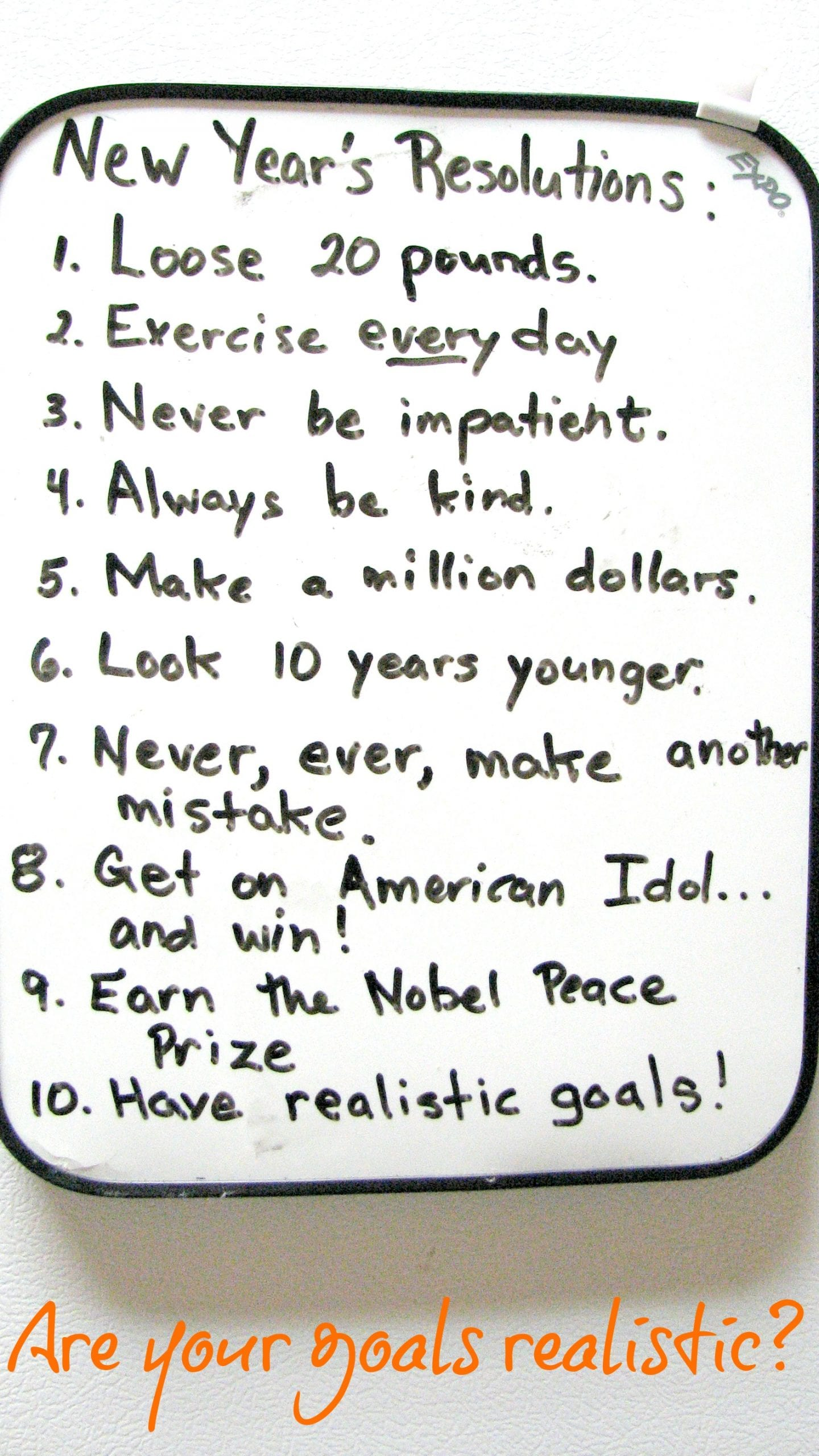 How Do You Make Goals for this Year?