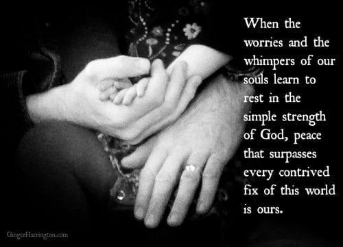 worry, faith, grace,