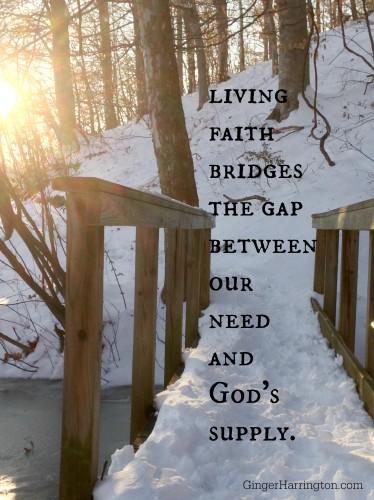 faith, One Simple Thing, Bridges