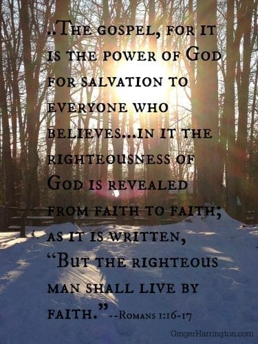 faith, One Simple Thing, gospel