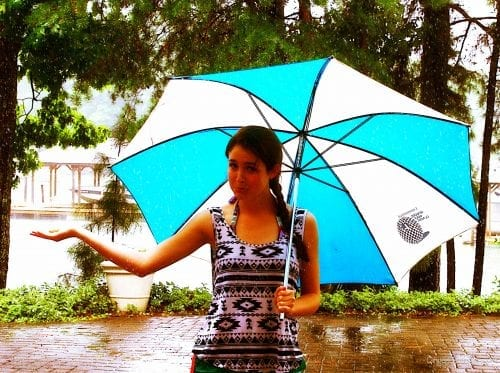 faith, One Simple Thing, umbrella