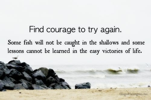 Luke 5 gives us courage to try again.