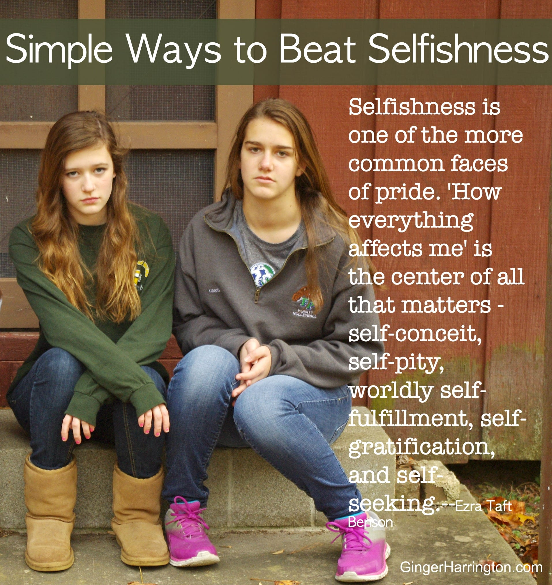 What does the Bible say about selfishness? Selfishness impacts our relationships with others. Selflessness is the antonym of selfishness that helps us to think of others. Overcome the signs of selfishness with practical tips to be a better person.