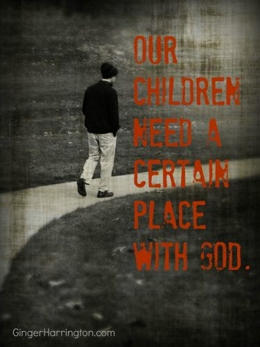 When God reveals himself truth gains power in our children's lives.