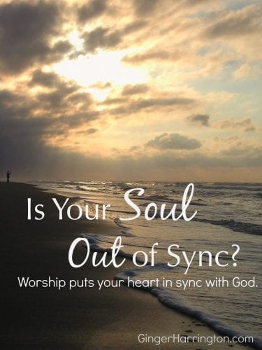 Disrupted schedules make it hard to keep your soul in sync with God. Find encouragement to rest from religious effort and get your heart in sync with God.