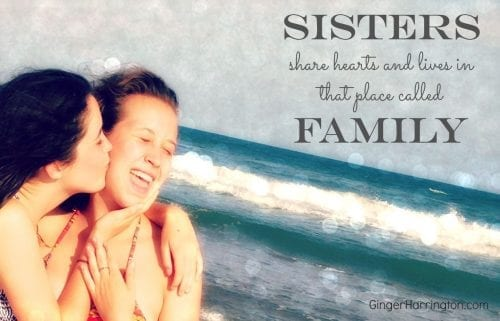 Sisters share hearts