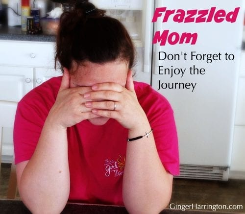Busy parent, overcommitment, frazzled parenting