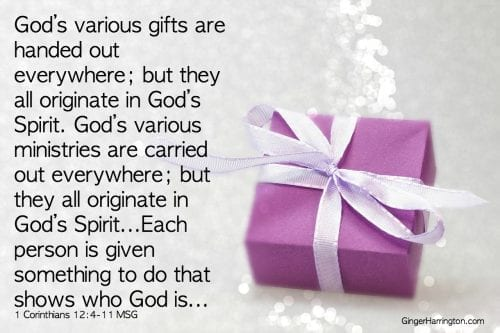 1 Cor 12-4