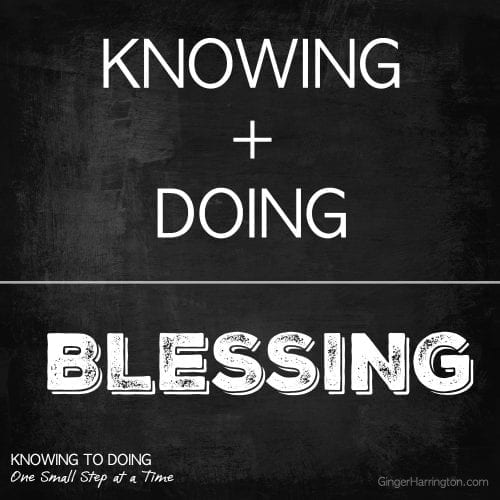 KNOWING + DOING