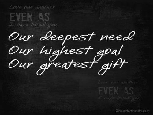 Deepest need