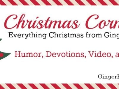 Everything Christmas from GingerHarrington.com. Find a collection of humor, activities, and devotions all in one place.
