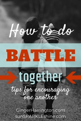 Tips for encouraging one another