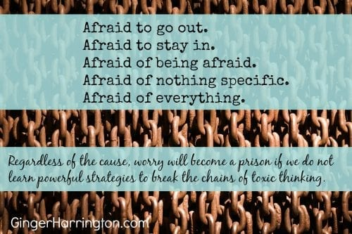 Learn powerful strategies to break the chains of worry