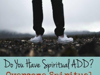 Overcome Spiritual Distractions