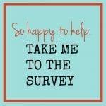 2016 Reader Survey for GingerHarrington.com