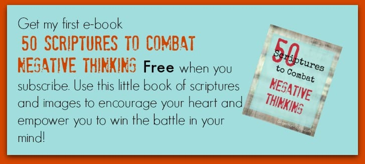 Do you struggle with negative thinking? Enjoy this devotional guide to overcoming negative thinking.