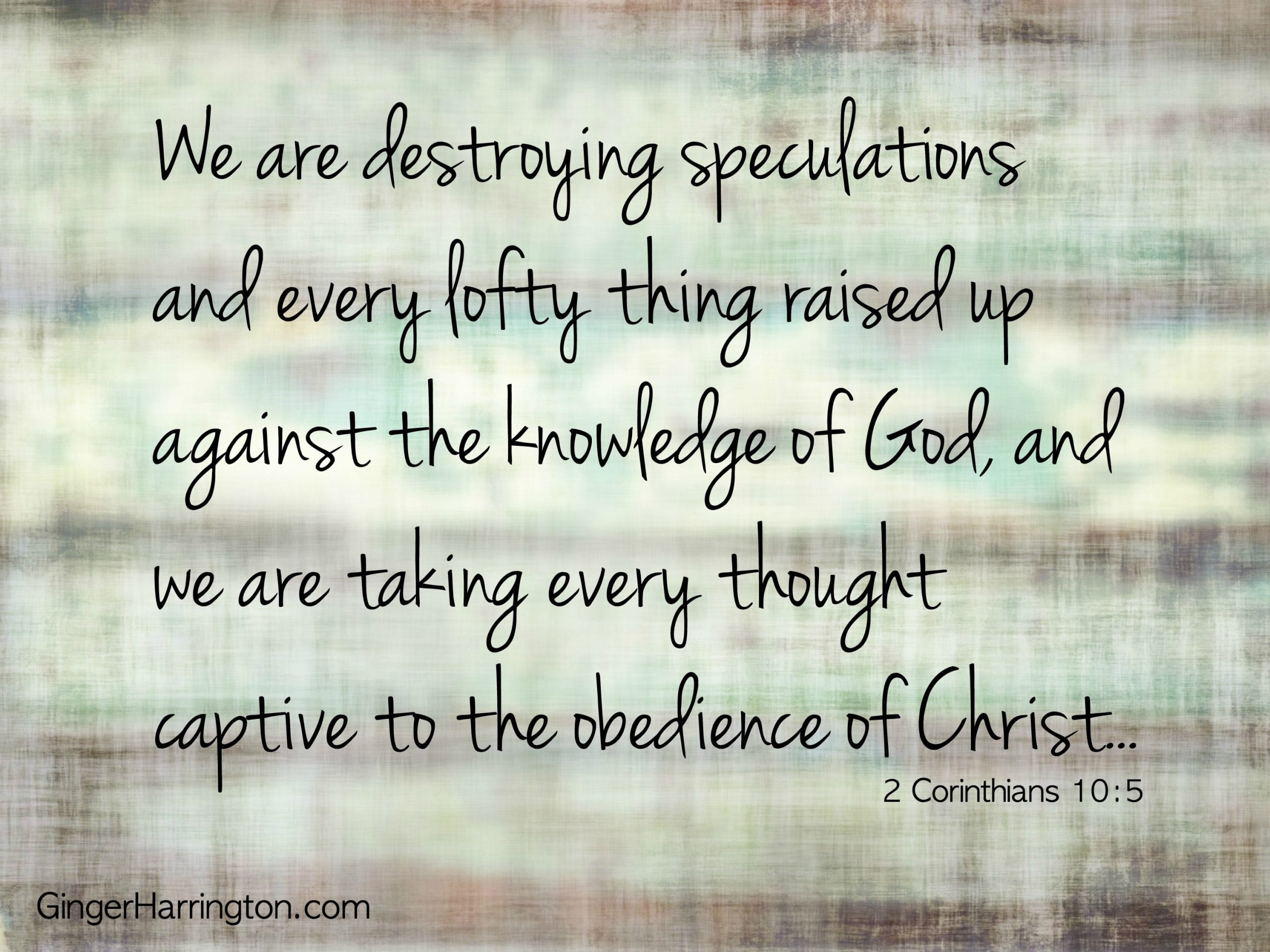 Win the battle of negative thinking with God's word. Bring your thoughts under the control of Christ. Scriptures to overcome negative thinking.