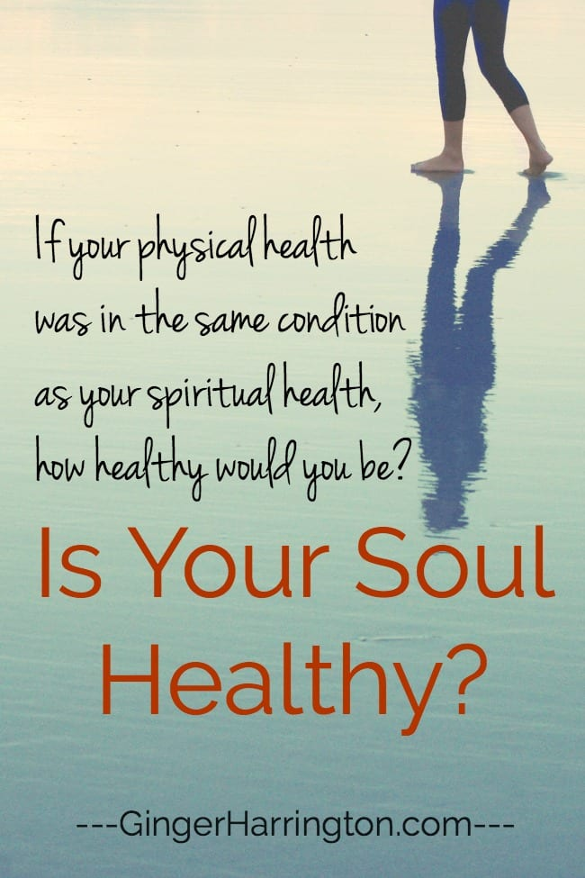 If your physical health was in the same condition as your spiritual health, how healthy would you be?