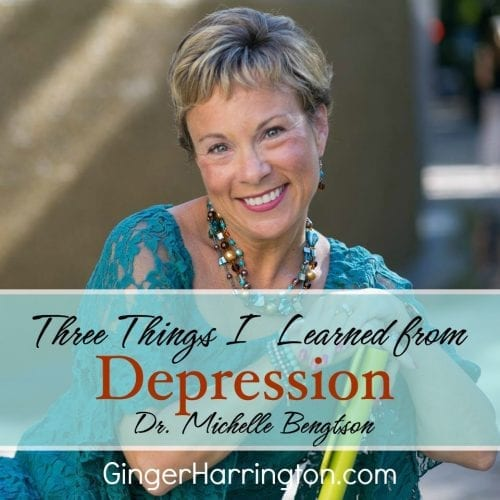 Dr. Michellle Bengtson, author of #HopePrevails ahares Three Things I Learned From Depression