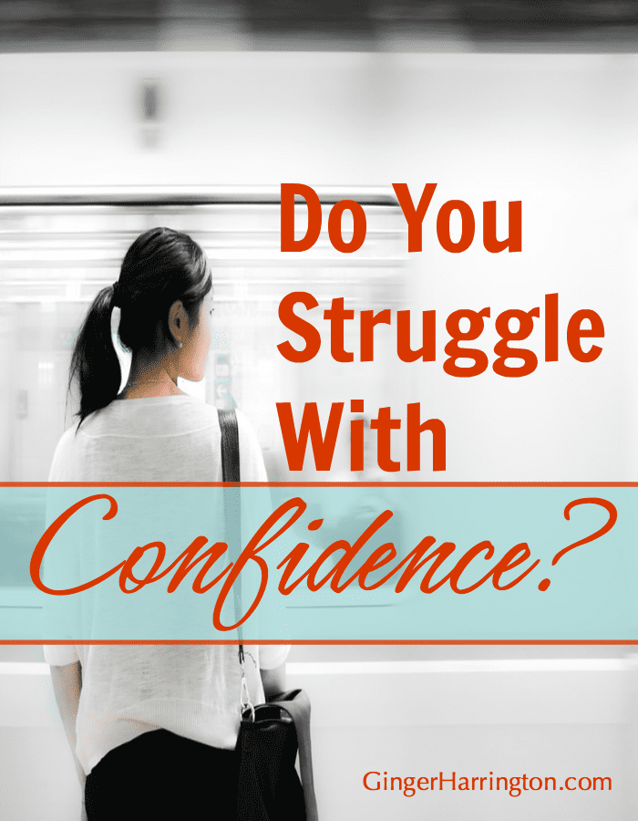 Why do we struggle with confidence? How many of us feel shame that we struggle with confidence? As if it is the cosmic no-no on the stage of a successful and fulfilling life.